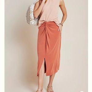 Anthropologie Junie Midi Skirt Size XS